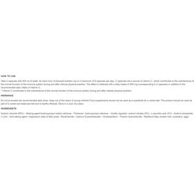 Enervit Sport Capsules de sel 120x0,58g, Neutral
